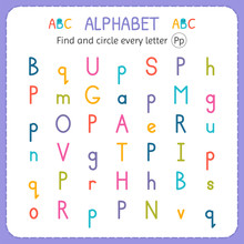 Find And Circle Every Letter P...