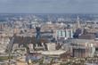 Панорама Москвы с 89 этажа небоскреба СИТИ. Район Ходынка, Аэропорт, Сокол. Стадион ЦСКА.