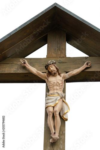 Fotografie, Obraz  Freigestelltes Kruzifix I