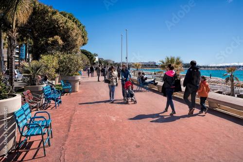 Papiers peints Lieu d Europe Cannes, Promenade de la Croisette