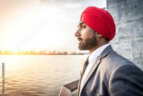 Fotografia, Obraz  Punjab businessman