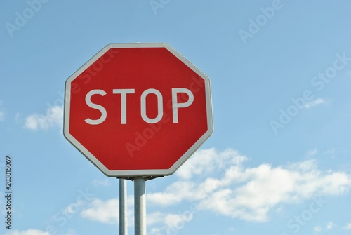 Fotografía  Znak STOP