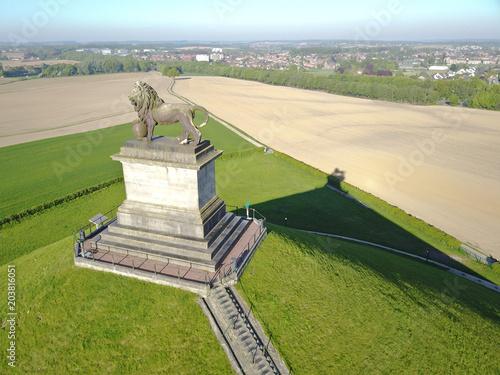 Waterloo tourisme 1815 memorial bataille lion Canvas Print