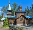 Church of Our Lady Konevskaya. Leningrad region, Russia.