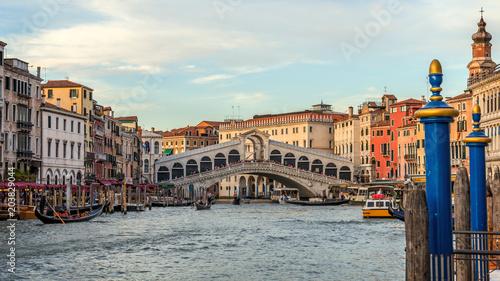Obraz Canal Grande, Wenecja, Włochy - fototapety do salonu