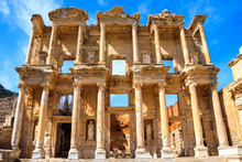 The Ancient City Of Ephesus In...