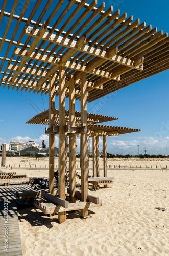 Poster Tunesië beach, sea,