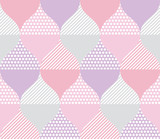 pale color geometry pattern. - 203836076