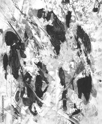 graficzna-tekstura-pelna-czarnych-plam