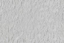 Seamless White Faux Fur Texture