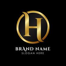 Luxury Letter H Logo Template ...