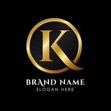 Luxury Letter K Logo Template ...