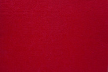 Texture Of Red Fabric As A Background.