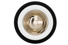Wheel Nickel Plated Retro. 3D ...