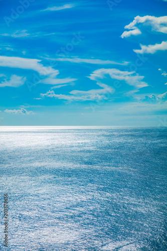 Foto op Aluminium Zee / Oceaan Exotic blue tropical ocean / sea tropical scenery.