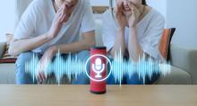 Smart Speaker Concept. AI Spea...