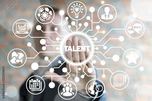 Cuadros en Lienzo Business recruitment or hiring work concept