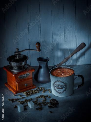 kawa-rano-ziarna-ziemia-tekstura-nastroj-smak