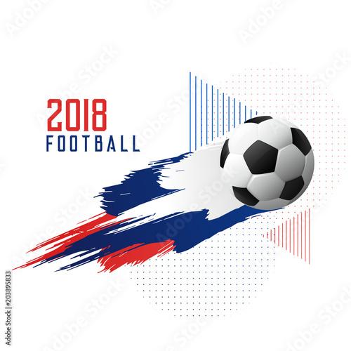 Papiers peints Restaurant football championship 2018 cup stylish background