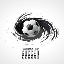 Soccer Tournament Abstract Swi...