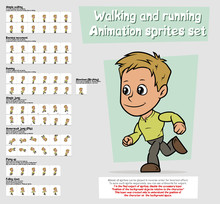 Cartoon Boy Character Animatio...