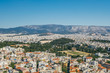 Aerial View of the Temple of Olympic Zeus and the Panathenaic Staidum in Athens, Greece