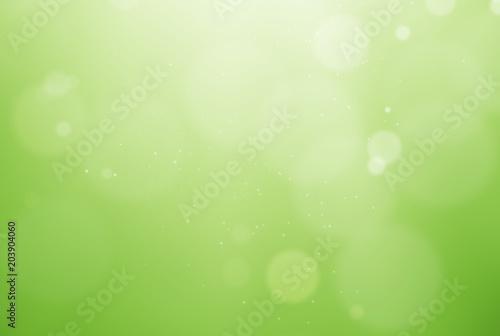Fotografie, Obraz  De-focused green background