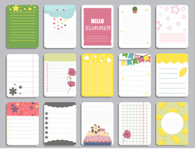 Kids Notebook Page Template Ve...