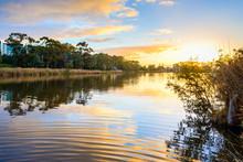 Sunset Above Torrens River