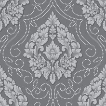 Vector Volumetric Damask Seaml...