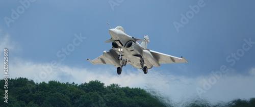 Fotografie, Tablou avion de chasse bannière