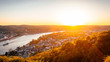 """Erpeler Ley"" Sunset, Rhine Valley, Germany"