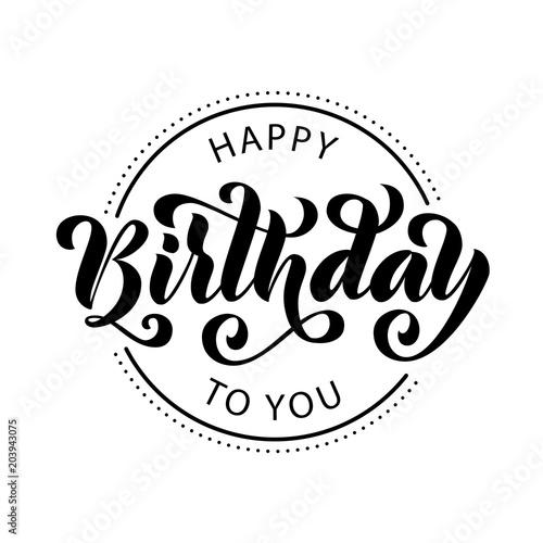 Happy birthday Canvas-taulu