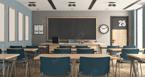 Fotografía Empty modern classroom