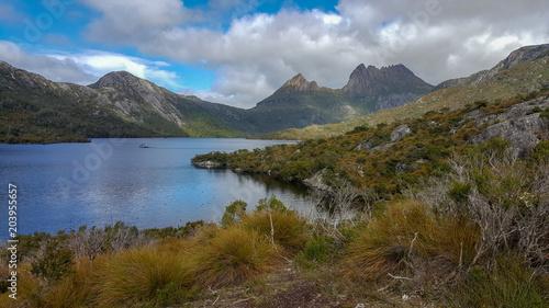 Keuken foto achterwand Bergen Cradle Mountain and Dove Lake in Tasmania, Australia