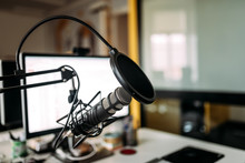Podcast Studio: Microphone And...