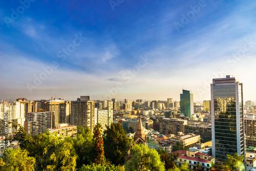 Photo  Cityscape of Santiago de Chile
