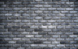 wall with black and white bricks