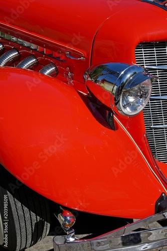 Fotografie, Obraz  Amerikanischer Sportwagen aus den 30er Jahren