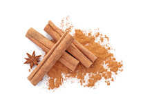 Aromatic Cinnamon Sticks And P...