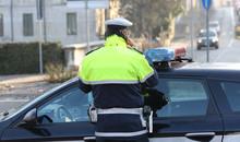 Policeman In The Street Talkin...
