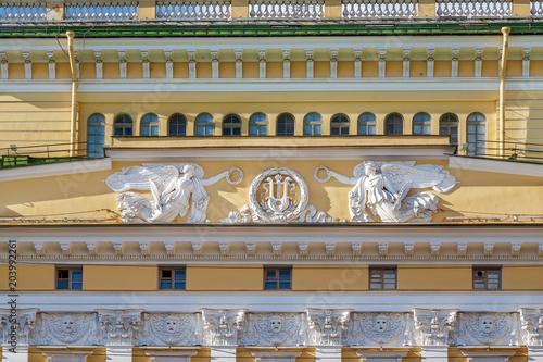 Deurstickers Theater Alexandrinsky Theatre, Saint Petersburg, Russia