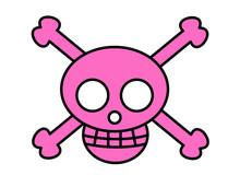 海賊マーク(ピンク)
