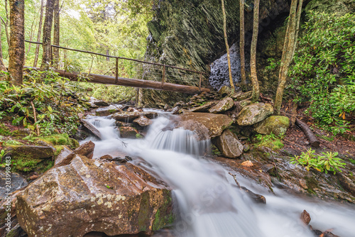 Cascades in the Smoky Mountains of Tennessee, USA. Wallpaper Mural
