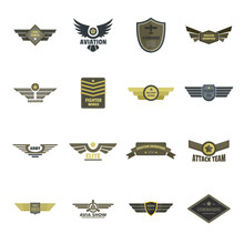 Airforce Navy Military Logo Ic...