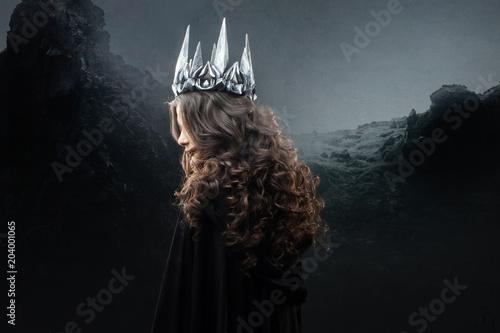 Fotografie, Obraz  Portrait of a Gothic Princess