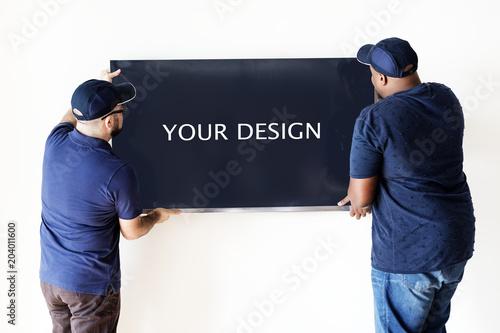 Furniture Delivery Service Concept Kaufen Sie Dieses Foto Und