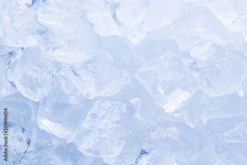 Canvas Prints Marble Ice cubes close-up background