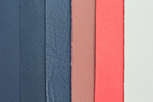Artificial Leather Variety Shades Of Colors