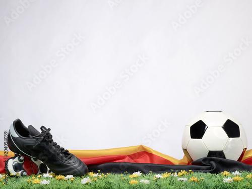 Papiers peints Fluvial Fußball